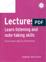 Lectures-Lean Listening n Note-taking skills.pdf