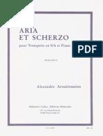 Aroutunian, A. - Aria et Scherzo.pdf