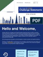 DevFest Emirates NBD Codathon - Challenge Statements