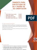 01 Modificado Procedimiento Para Efectuar Estudio de Análisis y Diseño de Platea de Cimentación