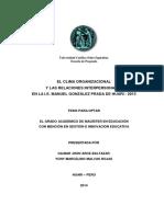 EL CLIMA ORGANIZACIONAL Y LAS RELACIONES INTERPERSONALES HUARI 201.docx