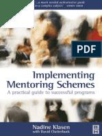 mentoring schemes