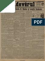 Adevărul, 18, Nr. 5815, 22 Octombrie 1905