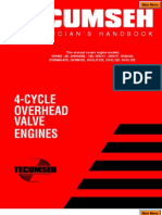 Techumseh 4 Stroke Overhead Valve-Service-Manual