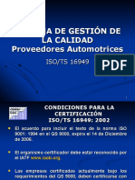 TS 16949 - Diseño