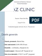 Caz Clinic Grupa M1316.Final-final!!!(1)Cristi