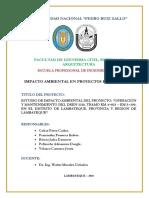 Informe Final Impacto Ambiental Final PDF