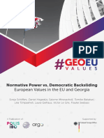 Normative Power vs. Democratic Backsliding