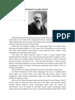 Biografi Claude Monet