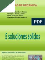 ejemplos de soluciones liquidas ,solidas ,gaseosas