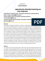 Diseño de La Capacitación Blended Learning