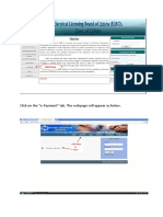 Instuction Manual for License Fee E-Payment