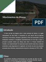 Geotecnia Aplicada ao Planejamento Urbano Ambiental - Movimentos de massa