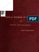 Lucas Kells - Typical Methods of Thinking (1910)