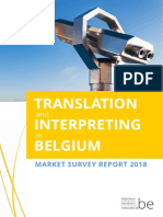 Translation Market Survey Report 2018 FR-NL-En-De