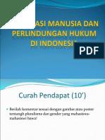 Power Point HAM Dan Kedudukan Hukum Di Indonesia