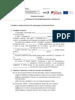 Plano de Recuperação de Aprendizagens Modulo 8-2