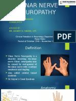 Ulnar Nerve Neuropathy