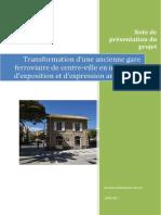 Gare de Cavalaire - Présentation du Projet