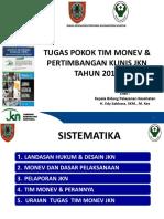 Tgs Pokok Tim Monev & Pelap Jkn Master