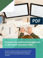 Produktdatenverwaltung in Microsoft Dynamics NAV - Perfion PIM