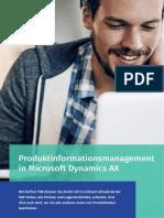 Produktinformationsmanagement in Microsoft Dynamics AX - Perfion PIM