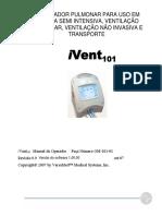 Respirador portátil ivent