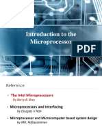 Lec_01. Introduction to the Microprocessor