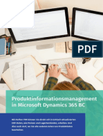 Produktinformationsmanagement in Microsoft Dynamics 365 Business Central - Perfion PIM