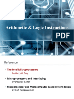 Lec_04. Arithmetic _ Logic Instructions