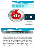 Presentation on 3G