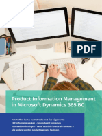 Productinformatiebeheer in Microsoft Dynamics 365 Business Central - Perfion PIM