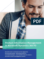 Productinformatiebeheer in Microsoft Dynamics 365 for Finance and Operations - Perfion PIM