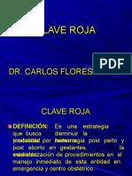 CLAVE ROJA  PPT Dr. Flores