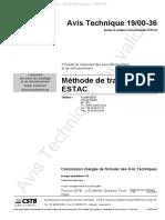 CSTB Traitement d'Eau EG EC AT000036