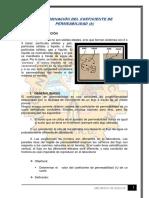 determinar el coeficiente de permeabilidad de una muestra de suelo