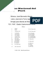 Himno Nac. Del Peru PDF