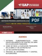Logistica en Proyectos MEF-SIGA