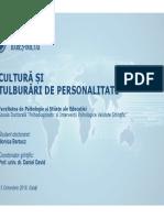 Cultura Si Tulburari de Personalitate - Bartucz - Gala_i