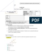 Función Lineal y Afín - 1 Medio