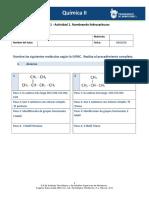 -MIV - U1 - Actividad 1. Nombrando Hidrocarburos (1)