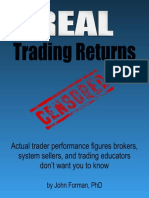 Real Trading Returns