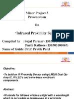 IR Proxomity Sensor