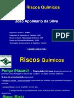Fundacentro Riscos Quimicos Joao Apolinario 2018