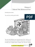 Pelajaran 1 Dakwah Nabi Muhammad SAW