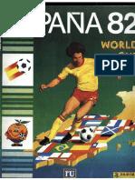 Album Panini Mundial 1982 España