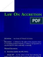 Law on Accretion.ppt