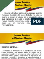 Propuesta de Estrutura Sociedad Patriótica