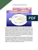 Modelo Teorico de Adaptacion de Catalista Roy