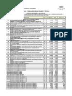 1. Presupuesto Proceso Válvulas - Consorcio Oyv2018